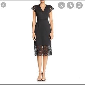 "Nanette Lepore ""Moody Treasures"" black dress"